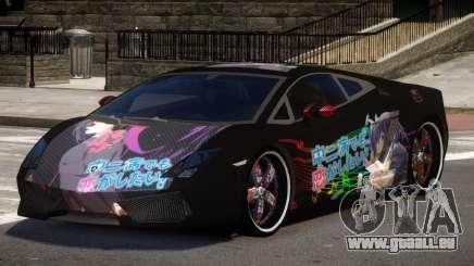 Lamborghini Gallardo LP560 MR PJ4 pour GTA 4
