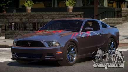 Ford Mustang 302 MS PJ4 für GTA 4