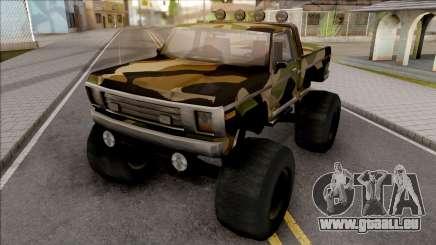 Monster A Camo Edition für GTA San Andreas