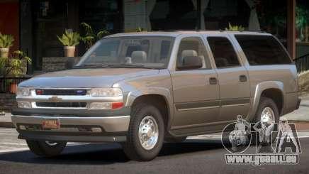 Chevrolet Suburban Spec pour GTA 4