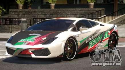 Lamborghini Gallardo LP560 MR PJ5 pour GTA 4