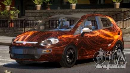 Fiat Punto TR PJ1 pour GTA 4