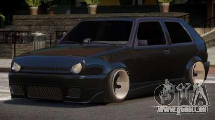 Volkswagen Golf 2 L-Tuning pour GTA 4