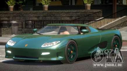 Koenigsegg CC8S ST für GTA 4