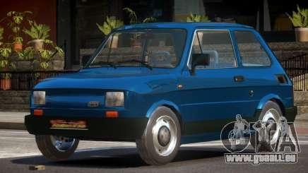 1989 Fiat 126P pour GTA 4