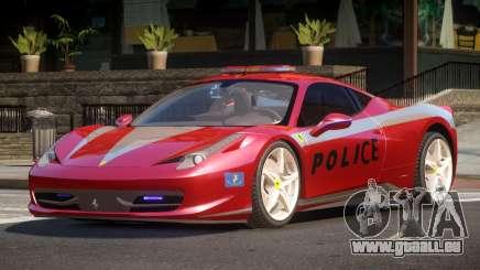 Ferrari 458 TR Police für GTA 4