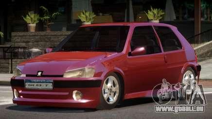 Peugeot 106 LT pour GTA 4