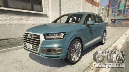 Audi Q7 Comfort Line version 1.1 pour GTA 5