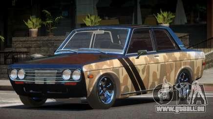 1972 Datsun Bluebird 510 PJ1 für GTA 4