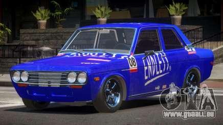 1972 Datsun Bluebird 510 PJ6 für GTA 4