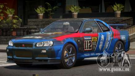 Nissan Skyline R34 GT-Style PJ1 für GTA 4