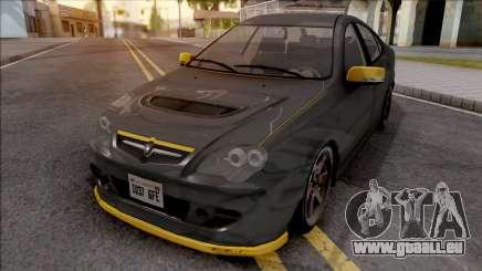 Proton Persona Black Yellow für GTA San Andreas
