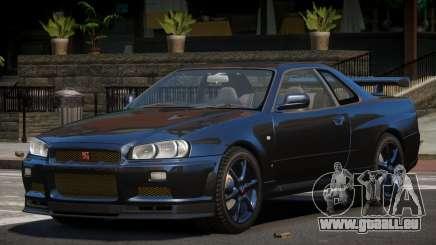 Nissan Skyline R34 GT-Style für GTA 4