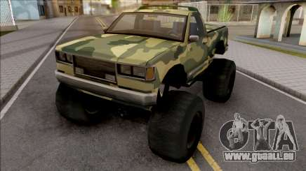 Monster B Camo Edition pour GTA San Andreas