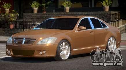 Mercedes Benz W221 B-Style pour GTA 4