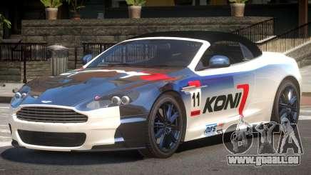 Aston Martin DBS Volante SR PJ4 für GTA 4