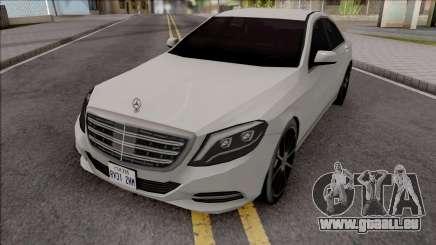 Mercedes-Benz S350 Bluetec 2014 SA Style für GTA San Andreas