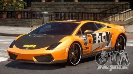 Lamborghini Gallardo LP560 MR PJ1 pour GTA 4