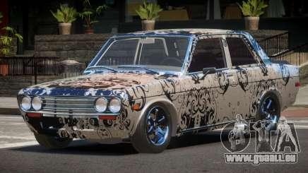 1972 Datsun Bluebird 510 PJ4 für GTA 4