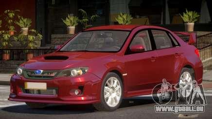 Subaru Impreza WRX S-Tuning pour GTA 4