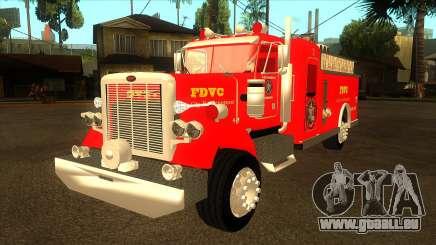 Peterbilt 379 Fire Truck pour GTA San Andreas
