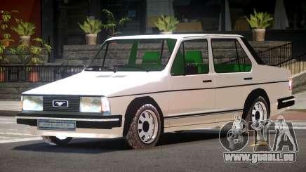 1986 Volkswagen Jetta V1.0 pour GTA 4