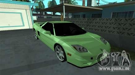 Honda NSX-R (SA Style) für GTA San Andreas