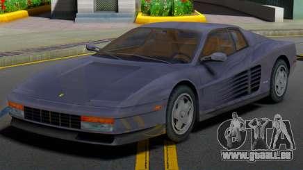 Ferrari Testarossa 1986 (IVF) pour GTA San Andreas