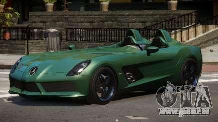 Mercedes Benz SLR TRG48 für GTA 4