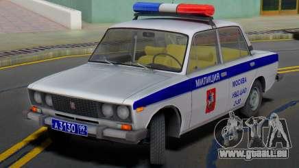 VAZ 2106 de la Police de Moscou pour GTA San Andreas