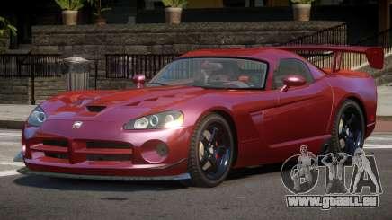 Dodge Viper SRT M-Sport pour GTA 4
