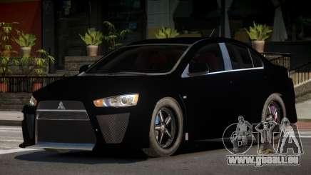 Mitsubishi Lancer X RT für GTA 4