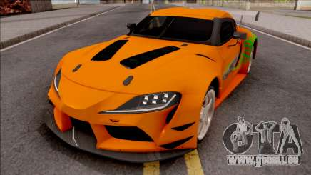 Toyota Supra A90 Fast & Furious pour GTA San Andreas