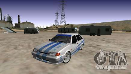 VAZ 2114 (Skyline R34 Paint Job) pour GTA San Andreas
