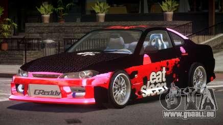 Nissan Silvia S15 M-Sport PJ3 für GTA 4