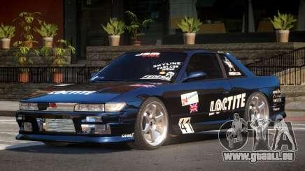 Nissan Silvia S13 TR PJ4 für GTA 4