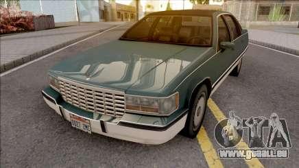 Cadillac Fleetwood Brougham 1993 v2 pour GTA San Andreas
