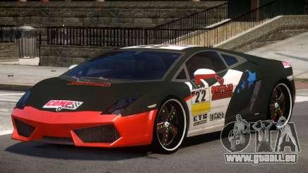 Lamborghini Gallardo LP560 MR PJ3 für GTA 4