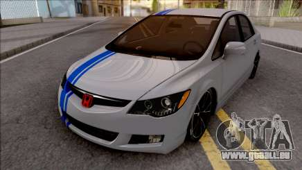 Honda Civic FD6 Grey pour GTA San Andreas