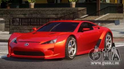 Lexus LFA R-Style pour GTA 4