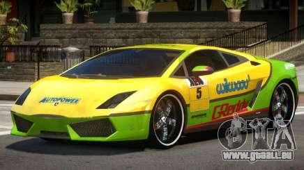 Lamborghini Gallardo LP560 MR PJ2 pour GTA 4