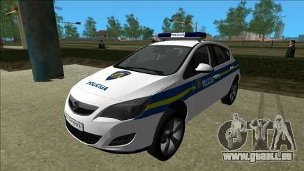 Police Croate Opel Astra pour GTA Vice City