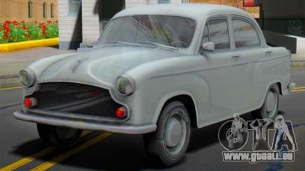 1965 Hindustan Ambassador MK-II (Dynasty style) für GTA San Andreas