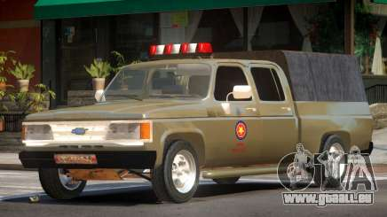 Chevrolet D20 Army pour GTA 4