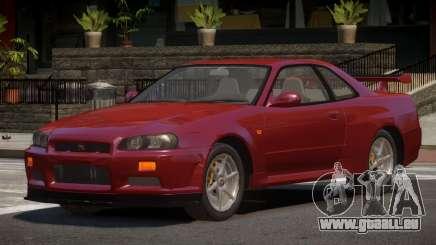 Nissan Skyline R34 STI pour GTA 4