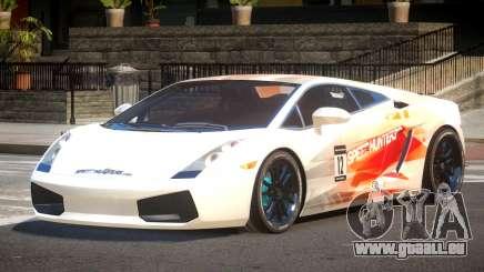 Lamborghini Gallardo FSI PJ2 für GTA 4