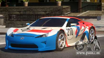 Lexus LFA R-Style PJ4 pour GTA 4