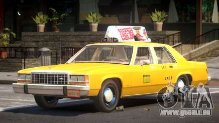 Ford LTD Crown Victoria Taxi V1.0 für GTA 4