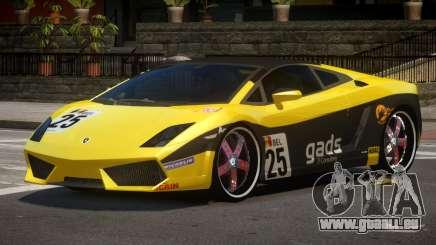 Lamborghini Gallardo LP560 MR PJ6 pour GTA 4