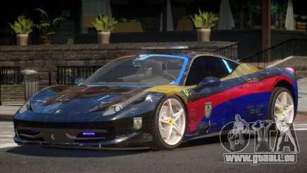 Ferrari 458 SR Police für GTA 4